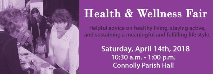 Health & Wellness Fair at Holy Family – April 14th