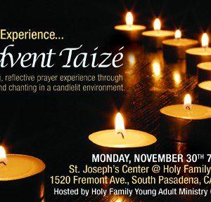 Holy Family Taize – November 30th