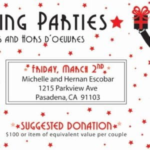 Come to an Auction Gift Gathering Party – a fun and festive way to support Holy Family!