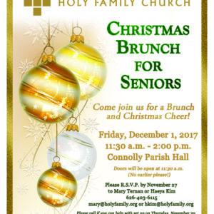 Christmas Brunch for Seniors