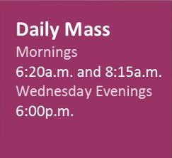 Daily Mass for Lent