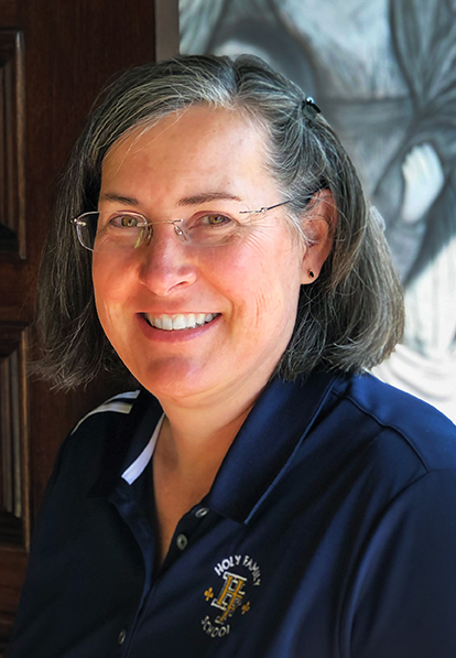 Darcie Girmus : Principal, Holy Family School