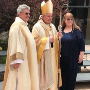 Now a Deacon Couple – Watch Jay's Ordination!