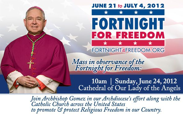 Fortnight for Freedom 2012