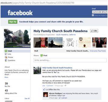 """""""Like Us"""" on Facebook"""