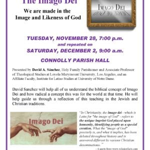 Imago Dei – All Are Welcome!