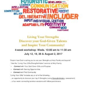 Get to Know Your God-Given Strengths this Summer!