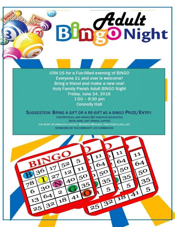 Microsoft Word - 2016 Bingo flier Adult -page-001