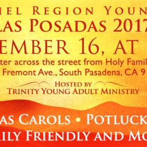 Posada at Holy Family, Dec. 16th