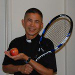 WITH RAQUET AND APPLE 2sm