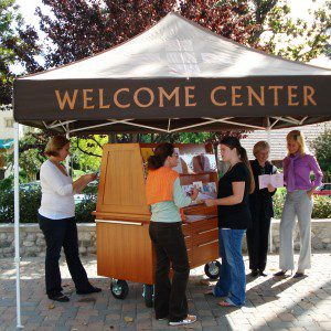 Visit the Welcome Center
