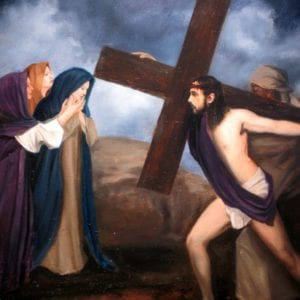 Stations of the Cross +++  Sacred Movement
