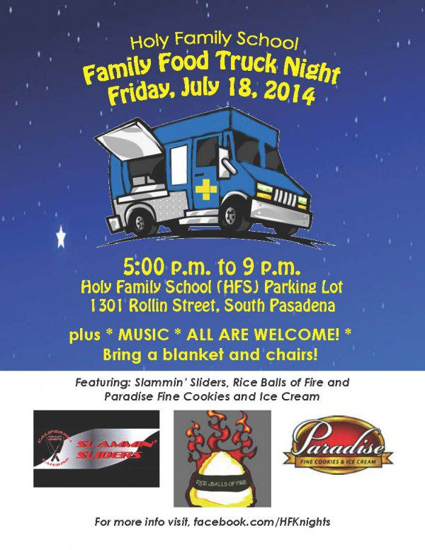 Family Food Truck Night July 18