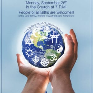 Interfaith Prayer Service September 25