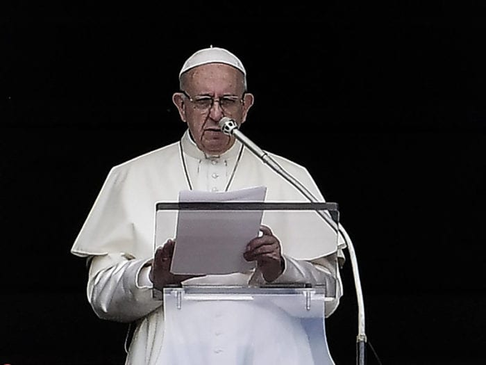 "Vatican Releases Pope Francis' ""Letter to the People of God"""