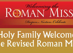 Preparing for the Revised Roman Missal