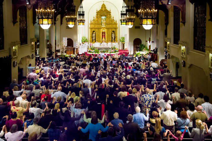 We need your input about our Sunday Masses