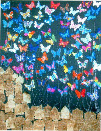 Art by 5th grade students of Holy Family School, South Pasadena, CA.