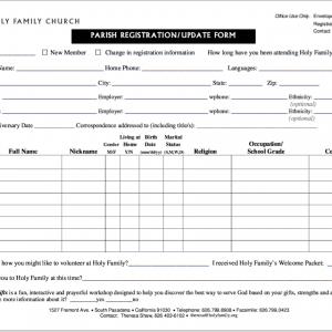 Image of registration form