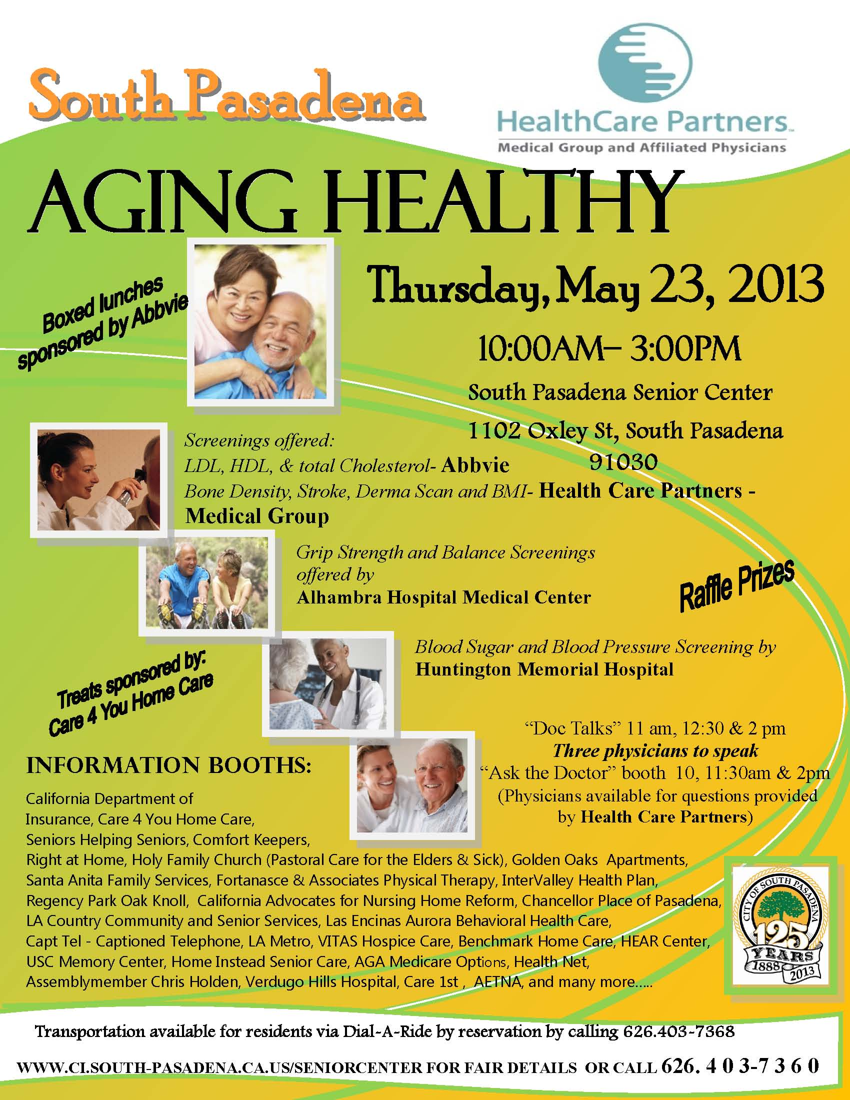So Pas Aging Healthy fair 2013